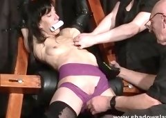 Classy Elise Graves in a kinky fetish XXX video